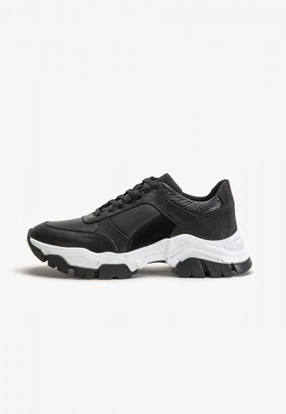 Inuovo Sneaker Leather black2