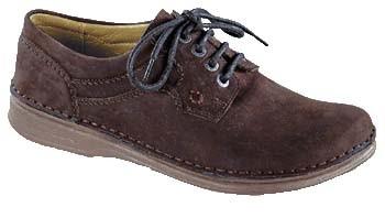 FOOTPRINTS Medford Handnaht-Schuhe Fettleder Walnut