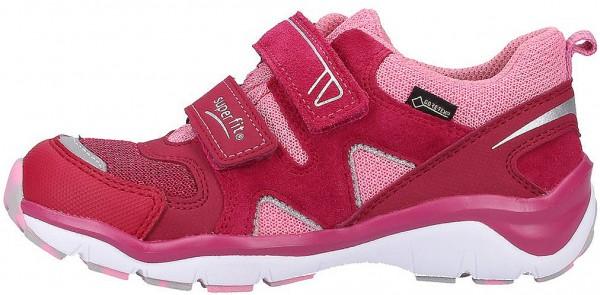 Superfit Sneaker Veloursleder/Textil Rot