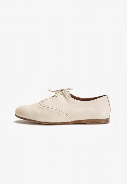 Inuovo Lace Ups Leather Beige