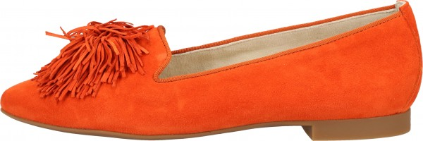 Paul Green Slipper Samt Orange