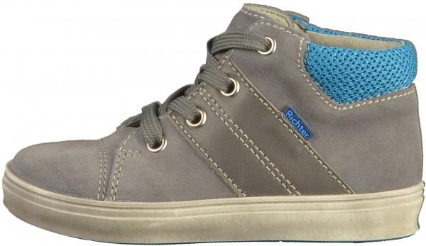 Richter Sneaker Velourleder/Textil Grau