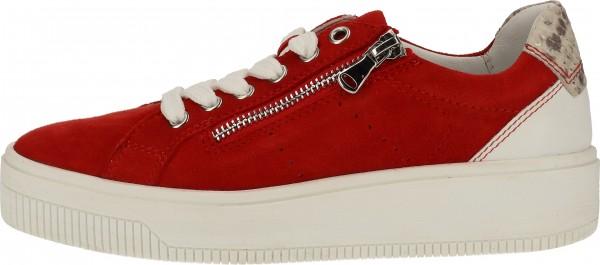 Marco Tozzi Sneaker Leder Rot