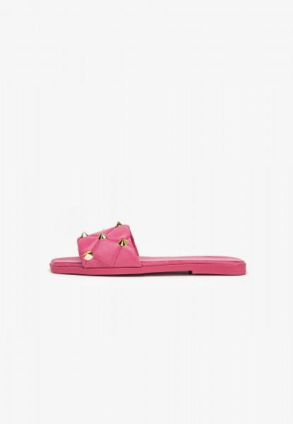 Inuovo Pantoletten Leder Pink
