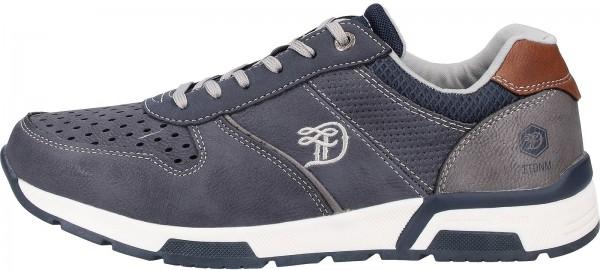 Tom Tailor Sneaker Lederimitat Navy