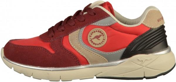 KangaROOS Sneaker Leder/Textil Rot