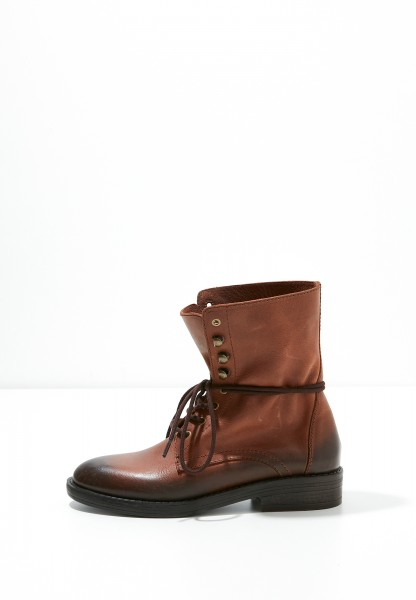 Inuovo Booties Leather Tan