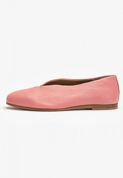 Inuovo Slipper Leder Pink