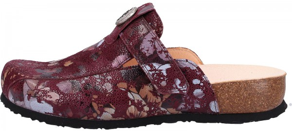 Think! Clogs Leder Chianti