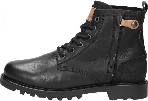 Sansibar Booties Leather black2