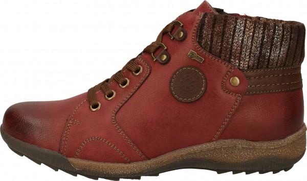 Relife Sneaker Lederimitat/Textil Rot Warmfutter
