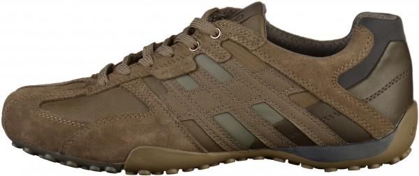 Geox Sneaker Lederimitat Taupe