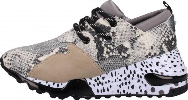 Steve Madden Sneaker Lederimitat/Textil Beige