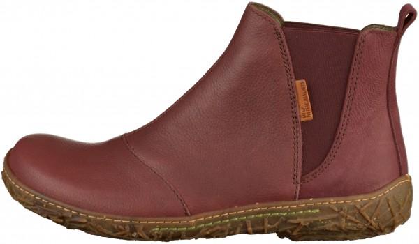 El Naturalista Booties Leather Red