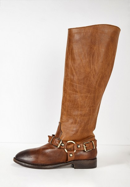 Inuovo Boots Leather Tan