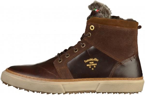 Pantofola d Oro Sneaker Leder Dunkelbraun Warmfutter