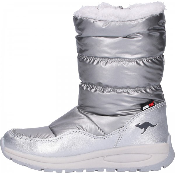 KangaROOS Stiefel Textil Silber Warmfutter