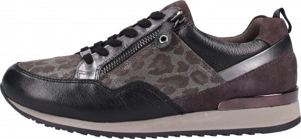 Caprice Sneaker Leder Grau