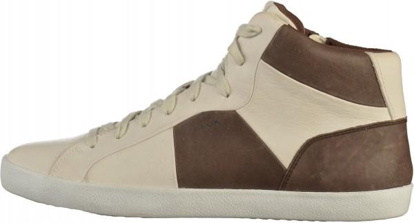 Geox Sneaker Nappaleder Weiß