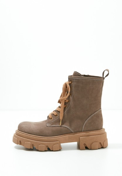 Inuovo Booties Leather Beige