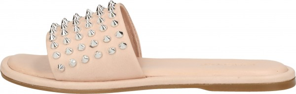Inuovo Mules Leather Rose