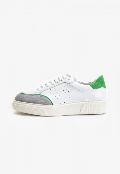 Inuovo Sneaker Leder Grün