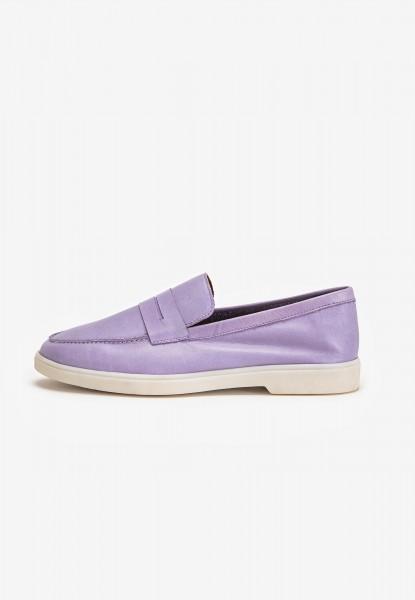 Inuovo Slipper Leder Purple