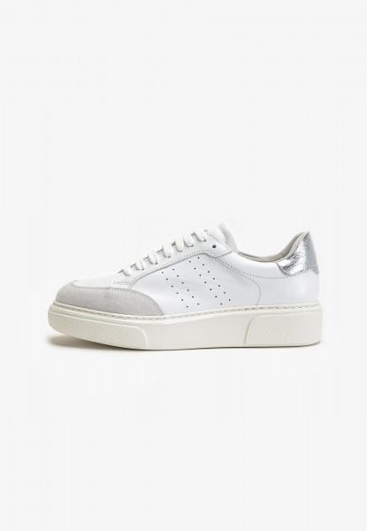 Inuovo Sneaker Leder Weiß/Grau