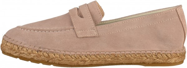 Fred de la Bretoniere Slipper Veloursleder Rose