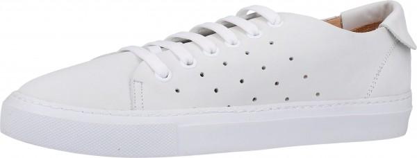 Darkwood Sneaker Nubukleder Weiß