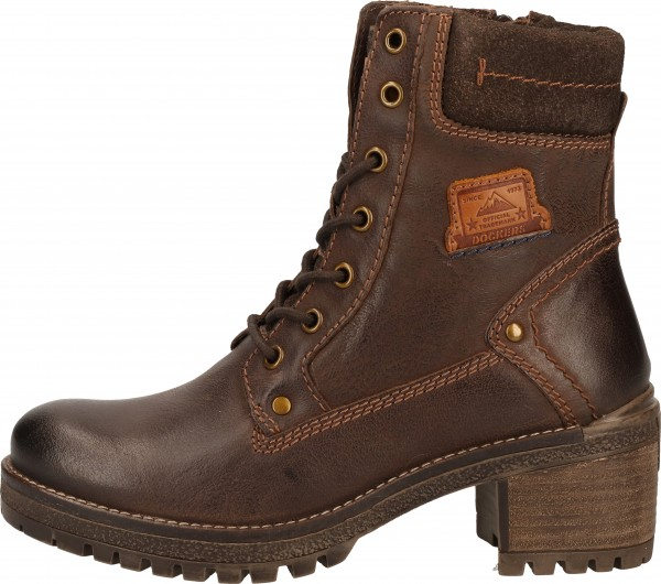 Dockers Stiefelette Leder Chocolate