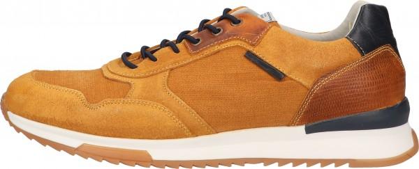 Bullboxer Sneaker Leather/Textile Yellow