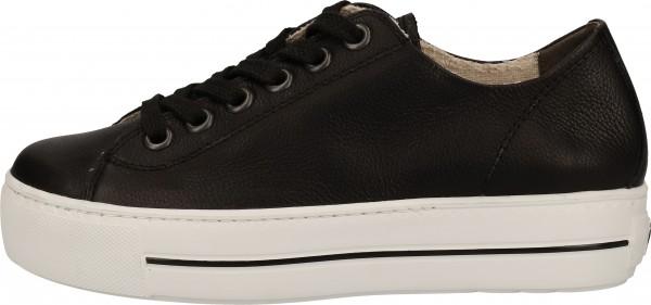 Paul Green Sneaker Leather black2