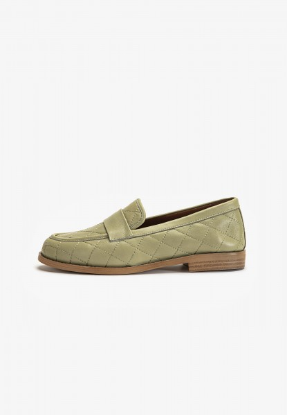 Inuovo Loafers Leather oliv