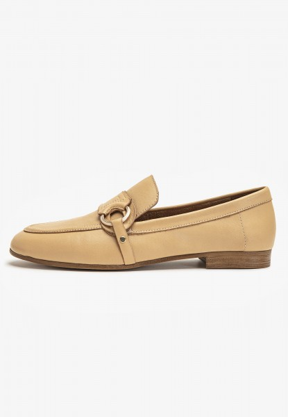 Inuovo Loafers Leather Light Brown