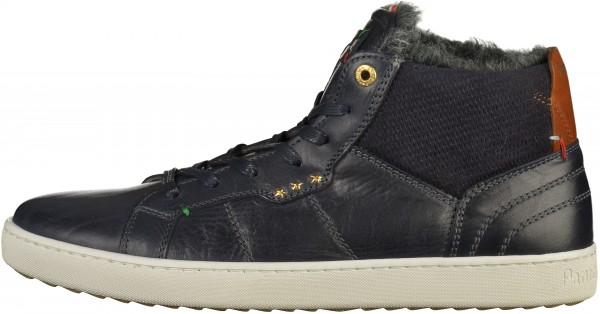 Pantofola d Oro Sneaker Leder Dunkelblau Warmfutter