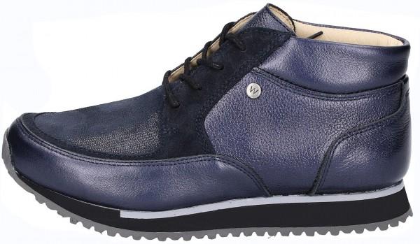 Wolky Sneaker Leder Blau