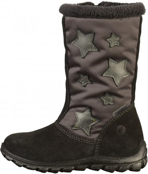 Pepino Stiefel Leder/Textil Asphalt Warmfutter