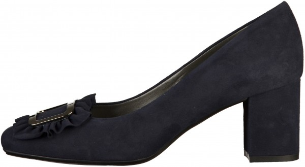 Peter Kaiser Pumps Veloursleder Navy