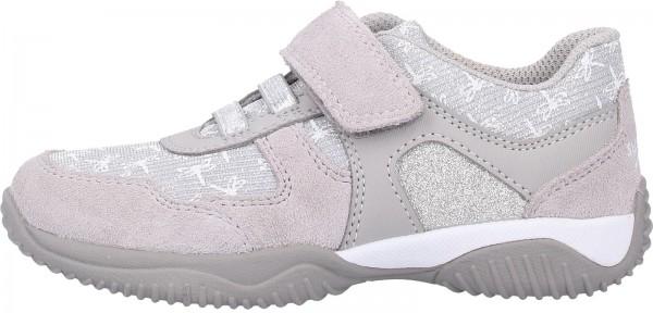 Superfit Sneaker Veloursleder/Textil Grau