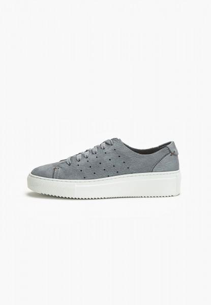 Inuovo Sneaker Leder Smoke
