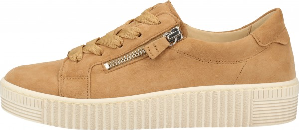 Gabor Sneaker Lederimitat Caramel