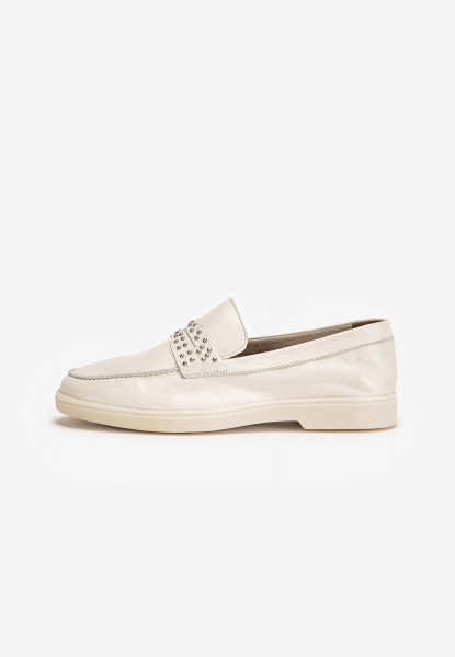 Inuovo Loafers Leather Creme