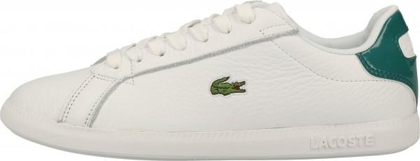 Lacoste Sneaker Leder/Synthetik Weiß/Grün