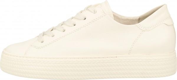 Paul Green Sneaker Nappaleder Weiß