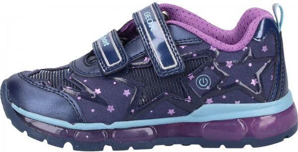 Geox Sneaker Lederimitat/Mesh Navy