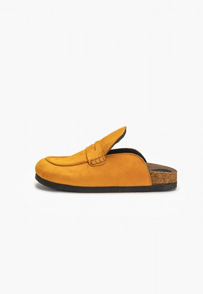 Inuovo Pantoletten Leder Orange