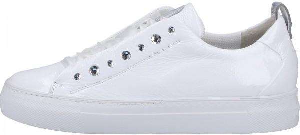 Paul Green Sneaker Leder Weiß/Silber