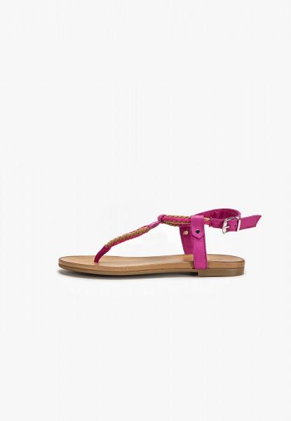 Inuovo Sandalen Leder/Textil Pink