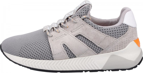 Replay Sneaker Leder/Textil Grau